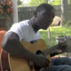 Back porch singing with Cedric Burnside