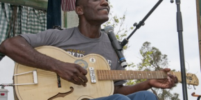 Big George Brock, Cedric Burnside Project to appear the Philadelphia Folk Festival on Sunday, August 19th