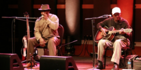 """Watch: More videos from the Terry """"Harmonica"""" Bean and Jimmy """"Duck"""" Holmes Mississippi Blues Project concert at World Cafe Live"""