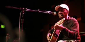 """Watch Jimmy """"Duck"""" Holmes"""" perform """"Hard Time Killing Floor"""" in concert from World Cafe Live"""