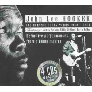 John Lee Hooker classic recordings box