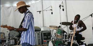 Listen to the Cedric Burnside Project's set from the Philadelphia Folk Festival