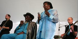 Watch Big George Brock perform at the Philadelphia Folk Festival
