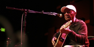 "Watch Jimmy ""Duck"" Holmes"" perform ""Hard Time Killing Floor"" in concert from World Cafe Live"