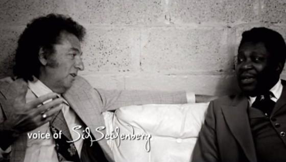 Sid Seidenberg with B. B. King