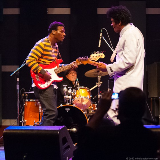 "Robert ""Bilbo"" Walker and Anthony ""Big A"" Sherrod in concert February 15, 2013"